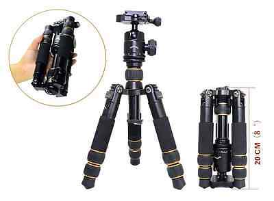 Koolehaoda Travel Portable KQ-166 Mini Tripod With Ball Head For DSLR Camera Can