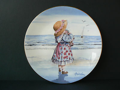 """Royal Worcester One Glorious Summer Collection - """"Raggety Anne""""  Serial No. 454"""