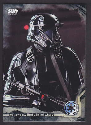 Topps Star Wars - Rogue One Series 1 - # 12 Death Star Black Parallel