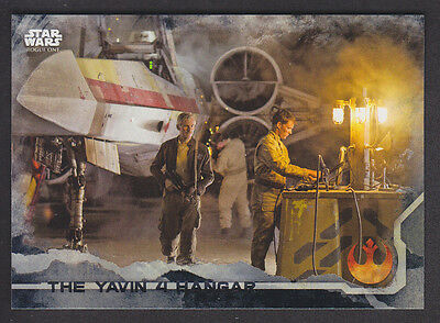 Topps Star Wars - Rogue One Series 1 - # 36 Death Star Black Parallel