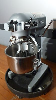 Hobart A200 20 QT  Mixer with bowl guard, stainless bowl, and flat beater
