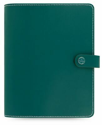 Filofax The Original A5 Organiser Dark Aqua Leather With 2 Card Slots