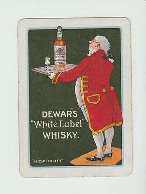 #6     DEWARS WHISKY  PLAYING  CARDS Single card WIDE