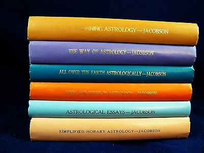 Astrology collection (6) Ivy M Goldstein-Jacobson G-VG HB 170111
