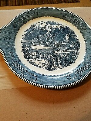 currier and ives platter