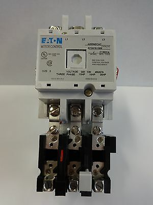 Eaton A200M2Cac Size 2 Motor Starter With A 120V Coil