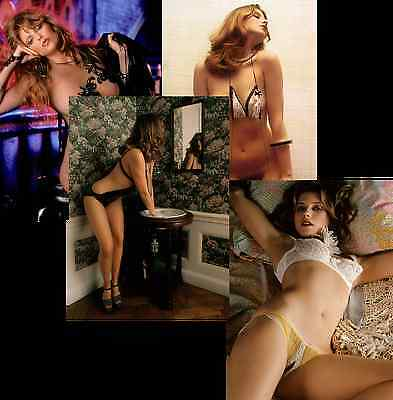BEBE BUELL JOB LOT SET 10 PHOTOS 7 X 5  HOT SEXY NUDE GLAMOUR MODEL 1970s