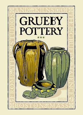 1 Dozen Grueby Pottery Postcards by Ward Hooper