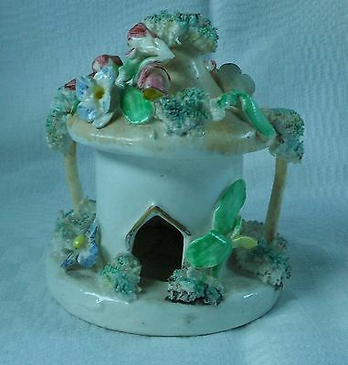early staffordshire cottage /pastille burner..19th century