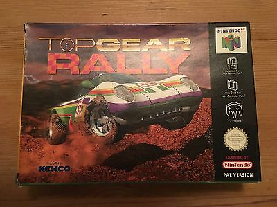 Top Gear Rally N64 box and manual (no game)