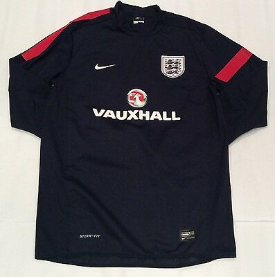 Nike England National Team Player Issue Shell Training Top
