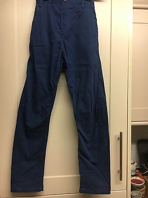 Next Boys Navy Jean Style Trousers Age 8 Years