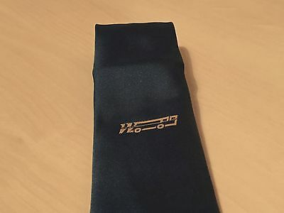 Unidentified Vintage Bus / Coach Drivers Tie - W & Coach Logo