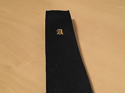 Unidentified Vintage Bus / Coach Drivers Tie - A Logo