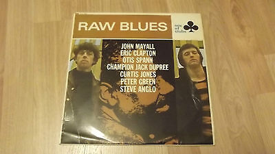 Raw Blues. Ace Of Clubs. Original Vinyl Lp. Mono, Pic Sleeve, Acl1220. Mayall