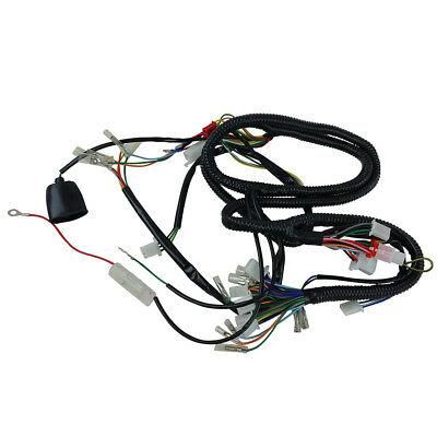 honda lead scv100 scv110 wiring loom wiring harness • 10 17 chinese gy6 150cc wire harness wiring assembly scooter moped sunl roketa