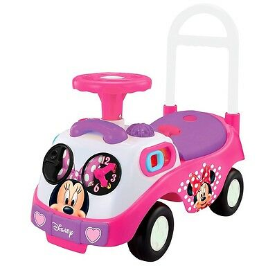 New Disney My First Minnie Mouse Activity Ride On Car Bike