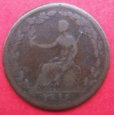 "1814  Lower Canada (Quebec)  ""Wellington""   Copper  Token"