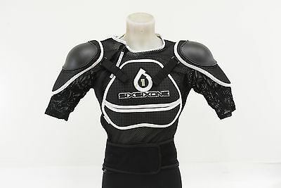 Sixsixone Assault Suit MTB Cycling Body Armor Size Large Spine/Shoulder Guards