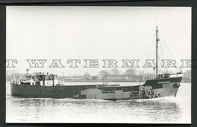 "Pc Size Photo - ""grouville"" 1936 Channel Is Shipping Jersey"