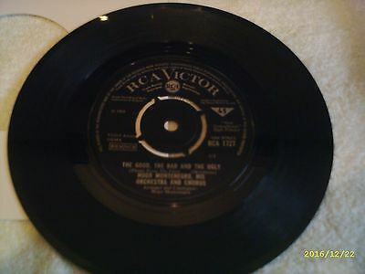 "Hugo Montenegro - The Good,The Bad & The Ugly - Theme From - 7"" Vinyl Record"