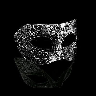 Mens Masquerade Masks Face Mask Venetian Masks for Fancy Dress Ball Roman Swirl