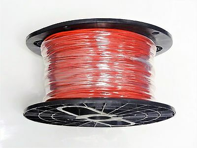 16 GAUGE WIRE WHITE RED  STRIPE  25/'  PRIMARY AWG STRANDED COPPER POWER MTW