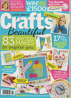 Crafts Beautiful Magazine - Issue 249 with free gift