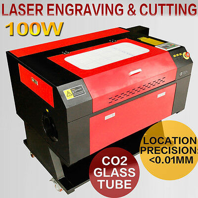 USB 100W Co2 Laser Cutting Machine Laser Cutter Engraver Machine DSP English LCD