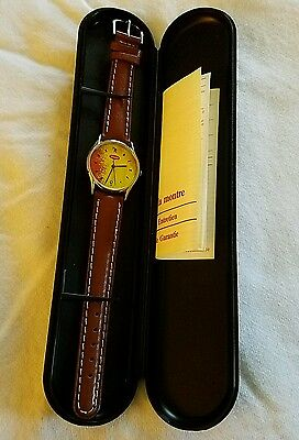 collectible vintage promotional watch Maggi logo still in the box