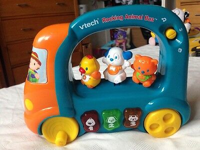 Vtech rocking animal bus  Baby toddler toy