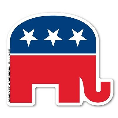 Republican Elephant Magnet
