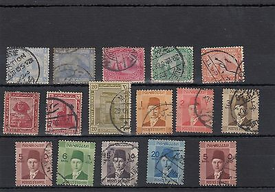Egypt. 16 --1950's/60's  Used Stamps On Stockcard