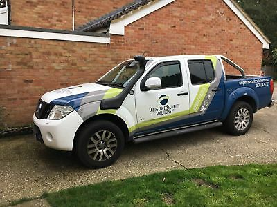 Nissan Navara D40 2010-2015 Snorkel Kit safari style Brand New Great Looking