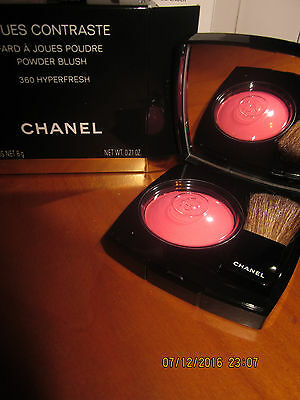 Chanel Joues Contraste Powder Blush 360 HYPERFRESH NUOVO NO TESTER