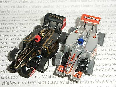 MICRO Scalextric - Pair of F1 Mclaren and Lotus - Nr. Mint