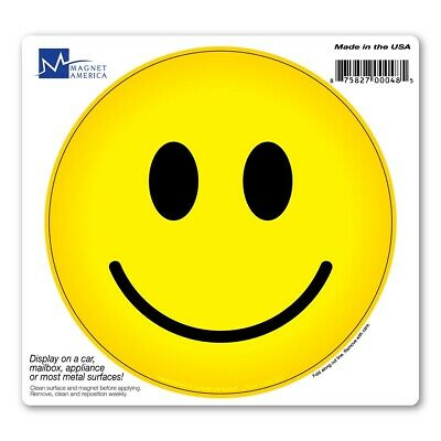 Smiley Face Circle Magnet