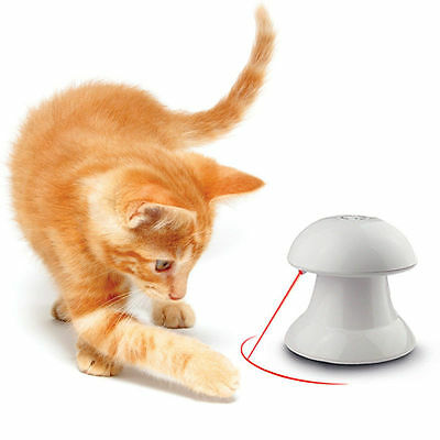 Toy For Cat Dog Pet Funny Automatic Interactive Dart Laser Light Exercise Teaser