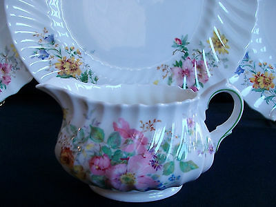 Royal Doulton Arcadia- Scalloped-Green Mark- Creamer- 8 Oz- Excellent! Mint!