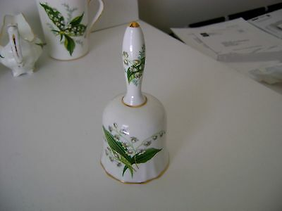 Vintage Hammersley Lily of the Valley Flutted Bell