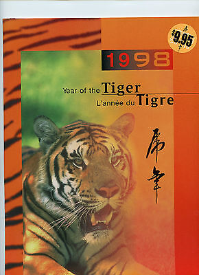 Weeda Canada Thematic Collection #78, 1998 Year of the Tiger folder CV $15