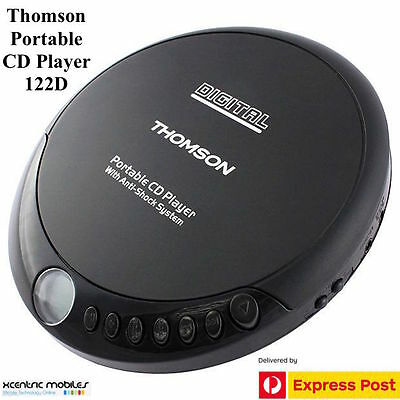 Portable CD Player Discman  CD-122D - BRAND NEW - Free Express Shipping