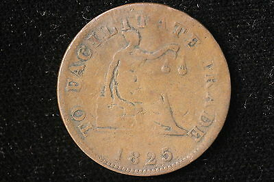 1825 Canada (LC) Token. Salaberry, To Facilitate Trade. Charlton LC-53A1
