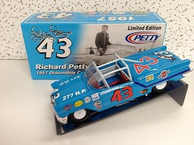 Autographed Richard Petty & Dale Inman 1957 Olds Convertible, 1st Car!, 1/24th.