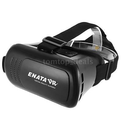 360°3D Movie Game Virtual Reality Glasses VR Box Headset For iPhone Samsung Q0M2