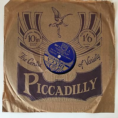 """The Rhythm Maniacs : You Will Remember Vienna - 10"""" 78 rpm"""