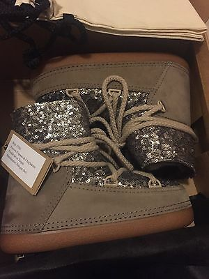 IKKII Sequined Suede Moon Boots  (NO UNAUTHORISED USERS!!)