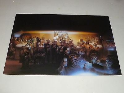 Star Wars Cantina Fan Club Poster 1997 Tsuneo Sanda 36 X 24 Snaggletooth Greedo