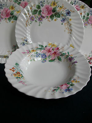 ROYAL DOULTON ARCADIA- SCALLOPED- RIM SOUP BOWL(s)- EXCELLENT!!