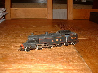 HORNBY FOWLER 4MT CLASS 2-6-4T LOCO No 2347 in LMS Black Livery 00 Gauge